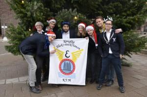 Med denna bild önskade Styret '13 en god jul!